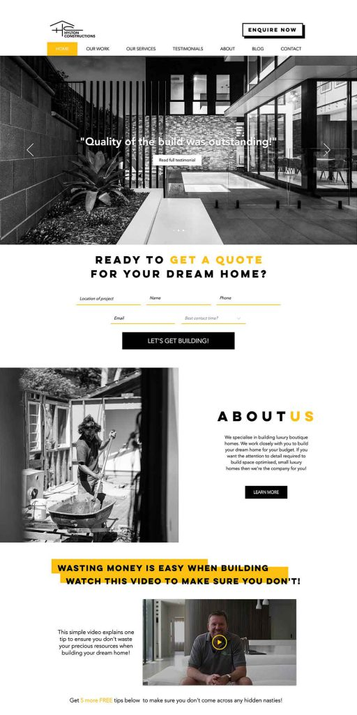 Websites for Tradies ALT4